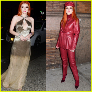 Bella Thorne Looks Lovely in Two Outfits at Carnegie Hall Performance in New York
