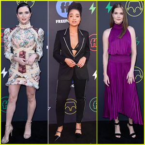 Bold Type's Katie Stevens, Meghann Fahy & Aisha Dee Looked Amazing at Freeform Summit 2019
