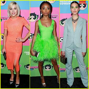 Carly Rae Jepsen, Skai Jackson, & Amanda Steele Get Colorful at Powerpuff Girls Fashion Show!