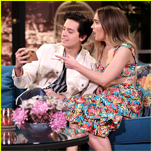 Cole Sprouse & Haley Lu Richardson Open Up About Working Together on 'Five Feet Apart'!