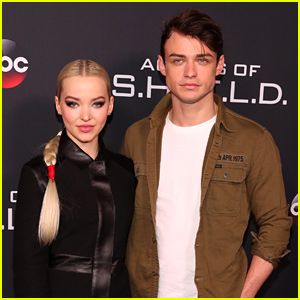 Dove Cameron & Thomas Doherty Take Adorable Videos of Each Other - Watch!
