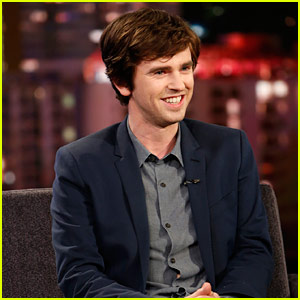 Freddie Highmore Stops By 'Jimmy Kimmel' for an Interview - Watch Now!