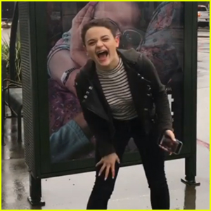 Joey King is So Pumped for New Show 'The Act' to Air - Watch!
