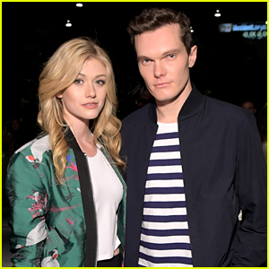 Katherine McNamara & Luke Baines Team Up at UNIQLO's Collections Celebration