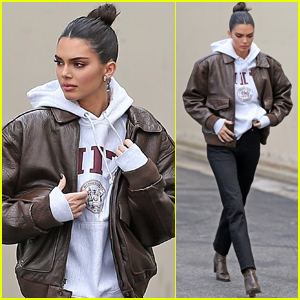 Kendall Jenner Films 'Keeping Up' in L.A.