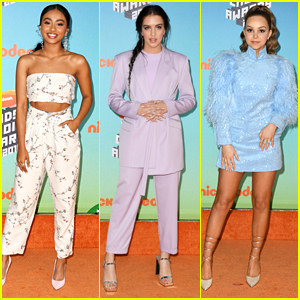 Daniella Perkins & Lilimar Lead 'Knight Squad' Stars to Kids' Choice Awards 2019
