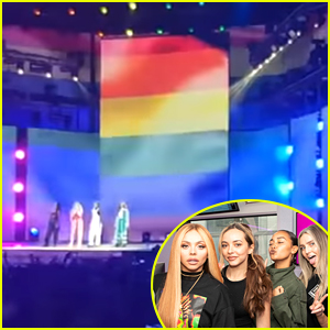 Little Mix Defy Homosexuality Laws & Performed With A Pride Flag In Dubai