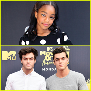 Marsai Martin Met Her Crushes, The Dolan Twins!