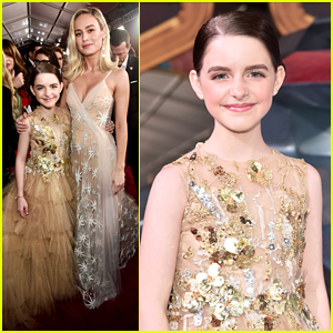 McKenna Grace Glams Up in Ball Gown For 'Captain Marvel' Premiere