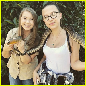 Millie Bobby Brown Visits Bindi Irwin at the Australia Zoo!