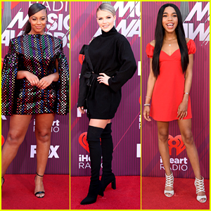 Nia Sioux & Witney Carson Step Out in Style For iHeartRadio Awards 2019