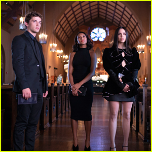 Caitlin, Ava, & Dylan Get Their Alibi Together Ahead of Nolan's Funeral on 'The Perfectionists'