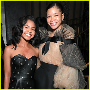 Storm Reid & Navia Robinson Make Stylish Appearance at Netflix's NAACP Image Awards Nominee Celebration