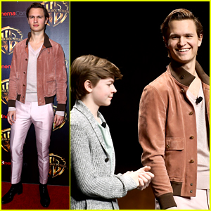 Ansel Elgort Is Joined By 'Goldfinch' Co-Stars at CinemaCon!