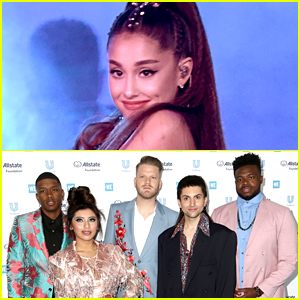Ariana Grande Reacts To Pentatonix's Mashup of Her Greatest Hits