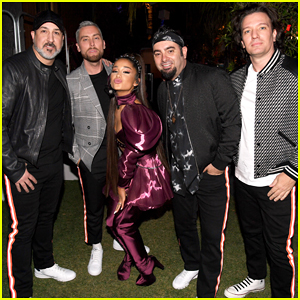 Ariana Grande Stages NSYNC Reunion for Coachella Set!