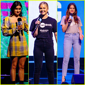 Ariel Winter, Olivia Holt, & Bailee Madison Inspire Change at We Day!