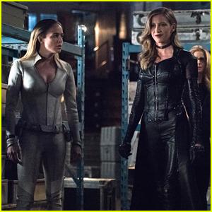 Caity Lotz Brings Sara Lance Back To Star City on 'Arrow'