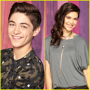 Asher Angel & Lilan Bowden Share Favorite 'Andi Mack' Memories on Instagram
