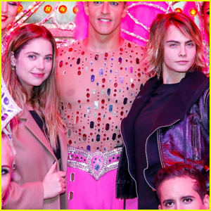 Ashley Benson & Cara Delevingne Step Out for Moulin Rouge Show in Paris!
