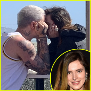 Bella Thorne Shares a Kiss with Italian Singer Benjamin Mascolo!