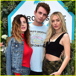 Bella Thorne & Delilah Belle Get Eco-Friendly at Aero Beach House