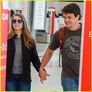 Bindi Irwin Heads Back to Brisbane with Chandler Powell After 'DWTS Australia' Appearance