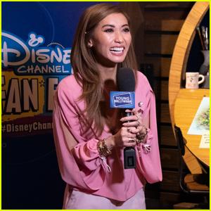 Brenda Song Premieres 'Amphibia' at Disney Channel Fan Fest!