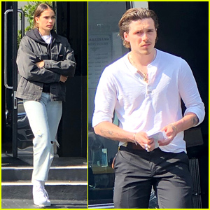 Brooklyn Beckham & Hana Cross Couple Up for Post-Coachella Shopping Trip