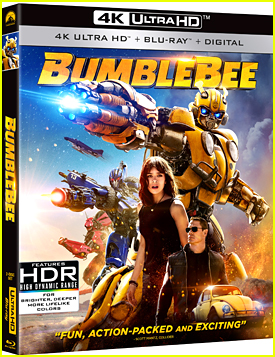 Win A Copy of 'Bumblebee' Movie on Bluray 4K!