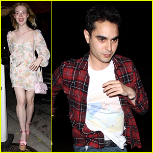 Elle Fanning Turns 21, Celebrates at Dinner with Max Minghella