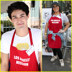 Gavin Leatherwood Serves Up Easter Dinner at LA Mission