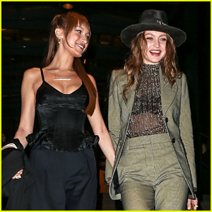 Gigi Hadid Holds Hands with Sister Bella After Marc Jacobs' Wedding