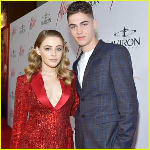 Hero Fiennes-Tiffin & Josephine Langford Bring 'After' to LA