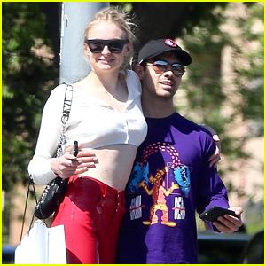 Joe Jonas & Sophie Turner Go Shopping in L.A. & Look So Cute!