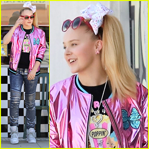 JoJo Siwa Wears Her New Fashion Collection To Lunch With Mom Jessalyn