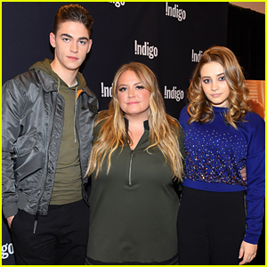 Hero Fiennes-Tiffin & Josephine Langford Join Anna Todd at 'After' Book Signing Event