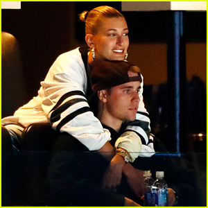 Justin & Hailey Bieber Watch the Stanley Cup Playoff Game