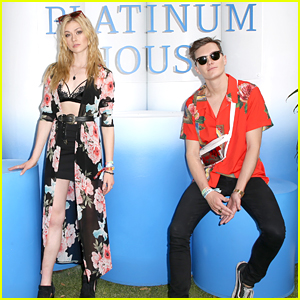Katherine McNamara & Luke Baines Say That They're Still Not Dating