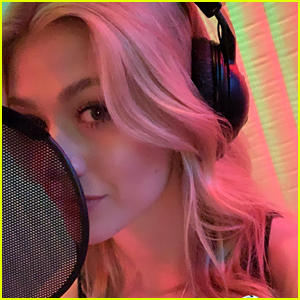 Katherine McNamara Teases That New Music Is Coming With Recording Booth Video