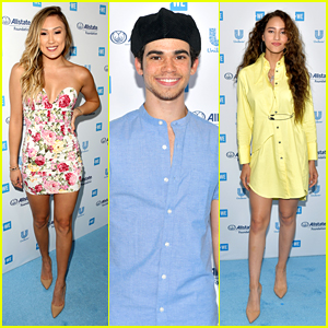 Cameron Boyce, LaurDIY & Many More Young Hollywood Stars Step Out For We Day California 2019