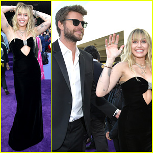 Miley Cyrus & Liam Hemsworth Are All Smiles at 'Avengers: Endgame' Premiere