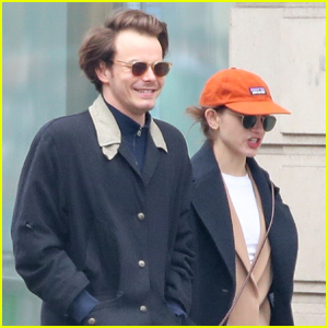 Natalia Dyer & Charlie Heaton Step Out for the Day in Paris