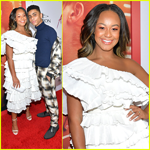 Nia Sioux Hits 'After' Premiere After Declaring Her Love For Hessa on Twitter