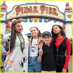 Navia Robinson & Sky Katz Bring 'Raven's Home' to Disney Channel Fan Fest!