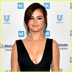 Selena Gomez Looks So Pretty at WE Day California!