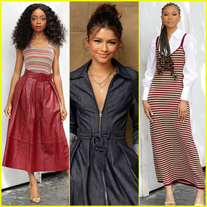 Skai Jackson & Storm Reid Model Zendaya's Tommy Hilfiger Line