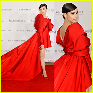 Sofia Carson Stuns in Red To Receive Los Angeles Ballet Ambassador Award at the 2019 Gala