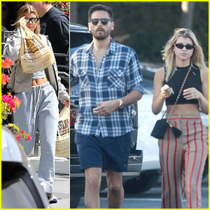 Sofia Richie & Scott Disick Have a Weekend Date Night