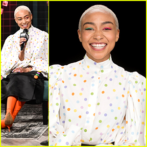 Tati Gabrielle Rocks Two Different Eye Shadow Colors For Build Series Appearance